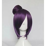 violetti lyhyt suora Bobo osapuoli cosplay peruukki synteettinen hius