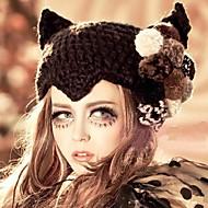 Women Knitwear Bowler/Cloche Hat , Cute/Casual Winter
