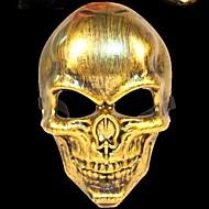 skelet warrior 3 kunststof themafeest halloween masker (willekeurige kleur)