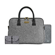 """XULIS  Pure color Style Laptop Bag for 15.4""""  MacBook Air/Pro"""