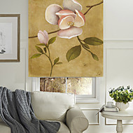 Ölgemälde-Stil blühenden Blumen Rollo