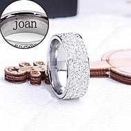 Personlig Smykker-Glamour-Rustfrit stål- iRinge