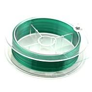 verde pesce di nylon linea di pesca lure 0,23 millimetri (100 m lunga, 5.9kg, verde)