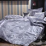 Define capa de edredão Cinzento - DE Faux Silk