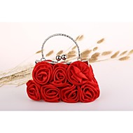 Satin with More flowers  Wedding /Special Occasion Evening Handbags/Clutchs(More Colors)
