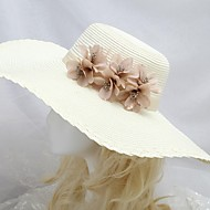 Women's Seaside Sun Hat With  Coffee Flower
