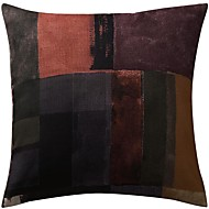 Polyester Housse de coussin , Patchwork Moderne/Contemporain