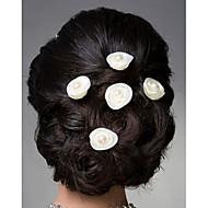 HWK kleinen Form Mode Kopf Blumen einem weißen