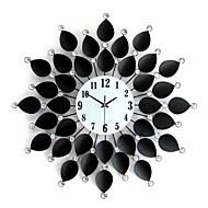 la mode moderne et créative forme nouveauté mur de salon horloge