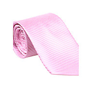 Pink Striped Tie