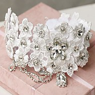 Women's Lace/Rhinestone/Alloy Headpiece - Wedding Headbands