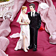 Cake Toppers Frisky Bride And Groom  Cake Topper