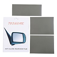 "TOSHOME Anti-glare Film for Inside Outside Rearview Mirrors DIY Series(9.84""*3.93""*1pc,  7.87""*5.9""*2pcs)"