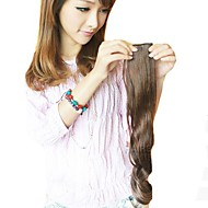 Long Wavy Synthetic and Clip in Hair Extension with 2 Clips and 5 Pieces of A Package(More Colors)