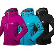 jaket softshell kepala kalis air perkhemahan hikingtravel hangat kot musim sejuk ski wanita cikrilan® ini