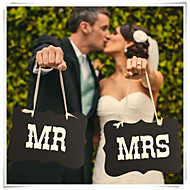 "decorazioni wedding mr ""&mrs ""puntelli segni sedia sposa sposo foto"