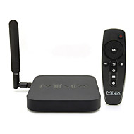 minix neo-x8 h mais quad-core android 4.4.2 4kx2k google hardware caixa de tv decording& H.265 2160p full / hevc