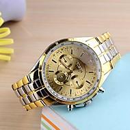 Men's Watch Analog Steel Quartz Dress Watch(Assorted Colors) Wrist Watch Cool Watch Unique Watch Fashion Watch
