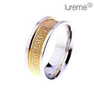 Gyűrűk Ékszerek Rozsdamentes acél Férfi Karikagyűrűk9 / 8½ / 9½ Aranyozott / Ezüst