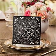 elegant flora Design Hochzeitseinladung Menge von 50 (weitere Farben)