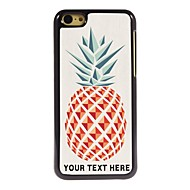 gepersonaliseerde telefoon case - ananas ontwerp metalen behuizing voor de iPhone 5c