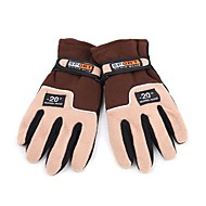 Full-finger Gloves / Winter Gloves Men's Keep Warm Ski & Snowboard / Cycling/Bike Brown Wool
