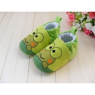 Boy's Flats Spring / Fall / Winter First Walkers / Crib Shoes Cotton Athletic Flat Heel Gore Green