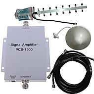 Stk. 1900Mhz Mobiltelefon Signal Forstærker  Antenne Kit 500 M²