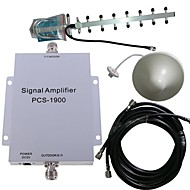 pcs 1900MHz mobiele telefoon signaal versterker booster antenne kit 500m²