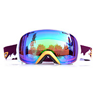 Basto cornice dorata sensore verde occhiali da neve sci