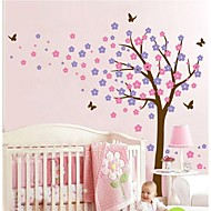 Wall Stickers Wall Decals, Cartoon Flower Tree PVC Wall Stickers.