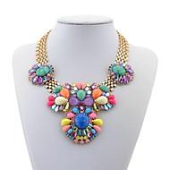 Ladies'/Women's Quartz/Acrylic Necklace Party/Daily Rhinestone