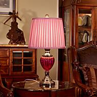 Lámpara de mesa eidehi® vidrio pintura de estilo festivo