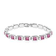 Crystal Alloy Pearl Bracelet
