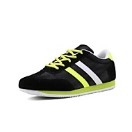 Men's Shoes Casual Canvas Fashion Sneakers Yellow / Green / Red