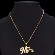 Da donna Collane con ciondolo Collane Statement imitazione diamante A forma di cuore imitazione diamanteAmore Di tendenza Gioielli