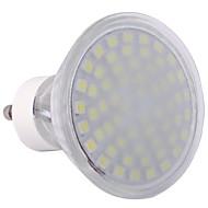 GU10 3.5 W 60 SMD 3528 300 LM Cool White MR16 Spot Lights AC 220-240 V