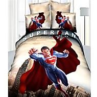 Duvet Cover Set,3D Active Print Cotton Comforter Bedding Set Queen Size Duvet Cover Sheet Pillowcase Linen Home Textile