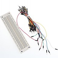 SYB-120 Breadboard and Breadboard Jumper Cable Wires 65Pcs