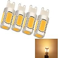 youoklight G9 5 W 5 COB 220 LM Warm White Decorative Corn Bulbs AC 85-265 V