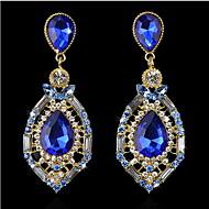 YUAN Fashion Casual High Quality Waterdrop Earrings