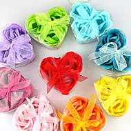 Heart-shaped Soap Roses(Random Colors)