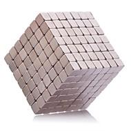 Magnetiske puslespil 343Pcs 5mm Magnetiske puslespil / Neodymmagnet Executive Legetøj Puzzle Cube DIY legetøj Magnetiske Balls Pink