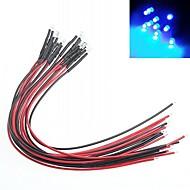 Indikátor modifikace auto kutilství 3mm červené světlo LED žárovky multicolor (10 ks)