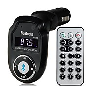 bt-303 multifunctionele bluetooth v2.1 handsfree carkit mp3-speler fm-zender A2DP