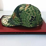 esdy horgászat kültéri szélálló poliészter terepszínű kalap baseball sapka napellenző zöld python