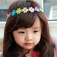 Dětské barevné květinové čelenka