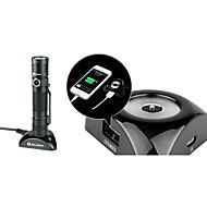 OLIGHT S30R Baton 5-Mode 1 x Cree XLamp XM-L2 USB Flashlight(1000LM.1 x 3400mAh 3.7V Rechargeable Lithium Battery.Black)