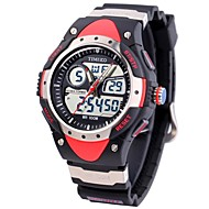 Time100 Men's Dual-Display Diving Digital Watches 100m Water Resistant Multifunction Sport Watch (Assorted Colors)