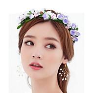 天飾り結婚式の花の女性の花輪circlets
